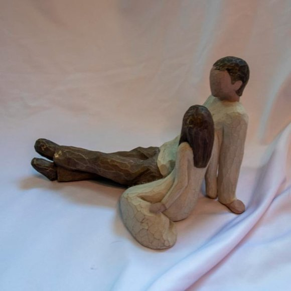 Willow Tree Figurine - Father and Daughter- 2000